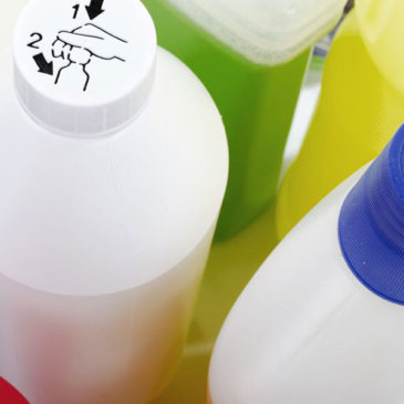 Botellas de Plástico de Polietileno